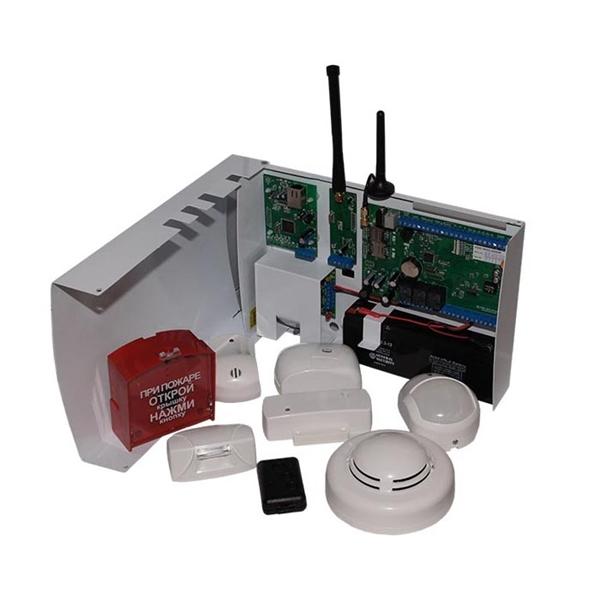 Пример комплекта беспроводной GSM сигнализации