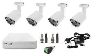 Комплект видеонаблюдения для загородного дома
